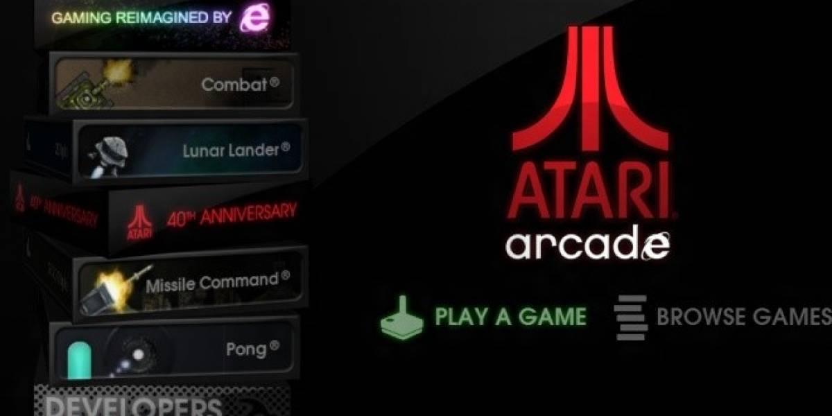 Pong y Centipede llegan al navegador y en versión moderna gracias a Atari Arcade