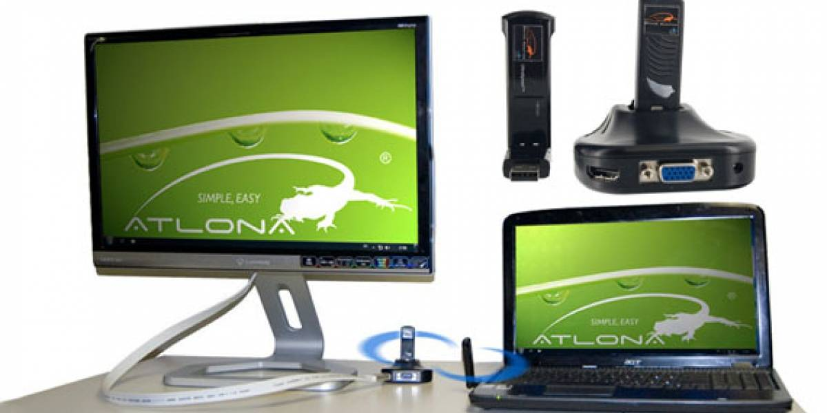 Atlona HDAiR: Conectar un monitor a tu equipo de manera inalámbrica