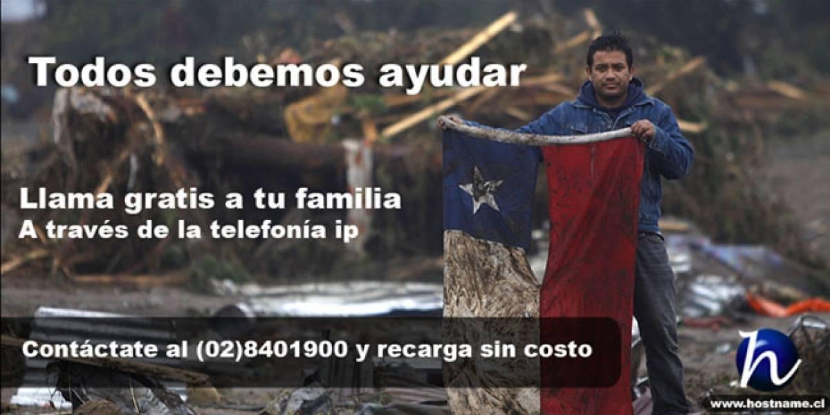 Terremoto Chile: Hostname.cl ofrece telefonía IP gratis