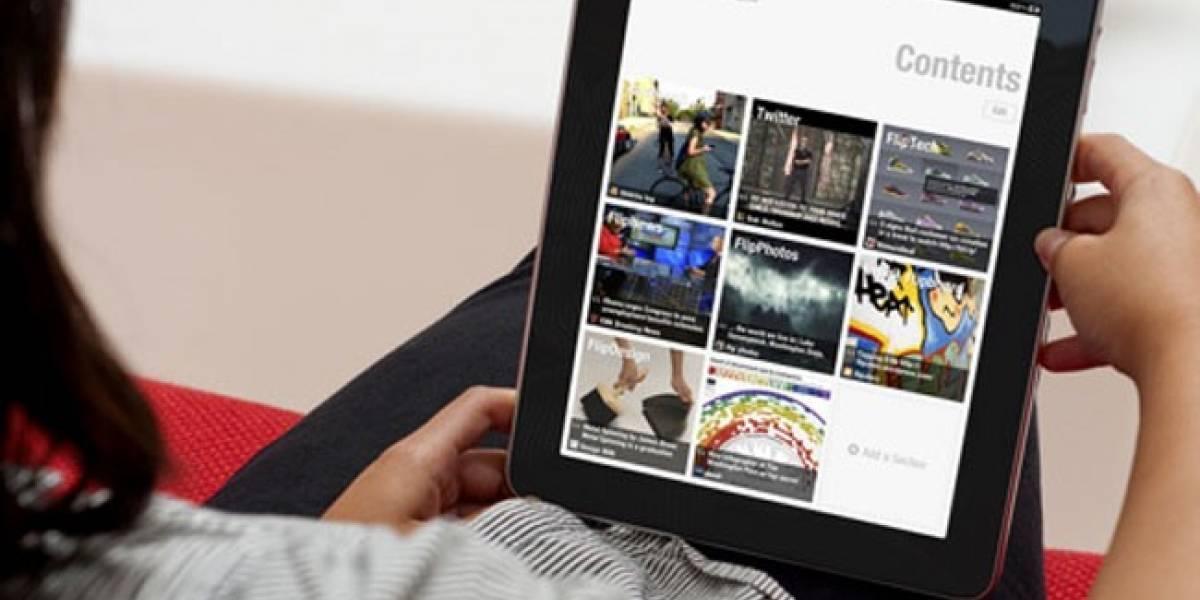 Flipboard ahora muestra contenido inteligente basándose en lo que más te gusta