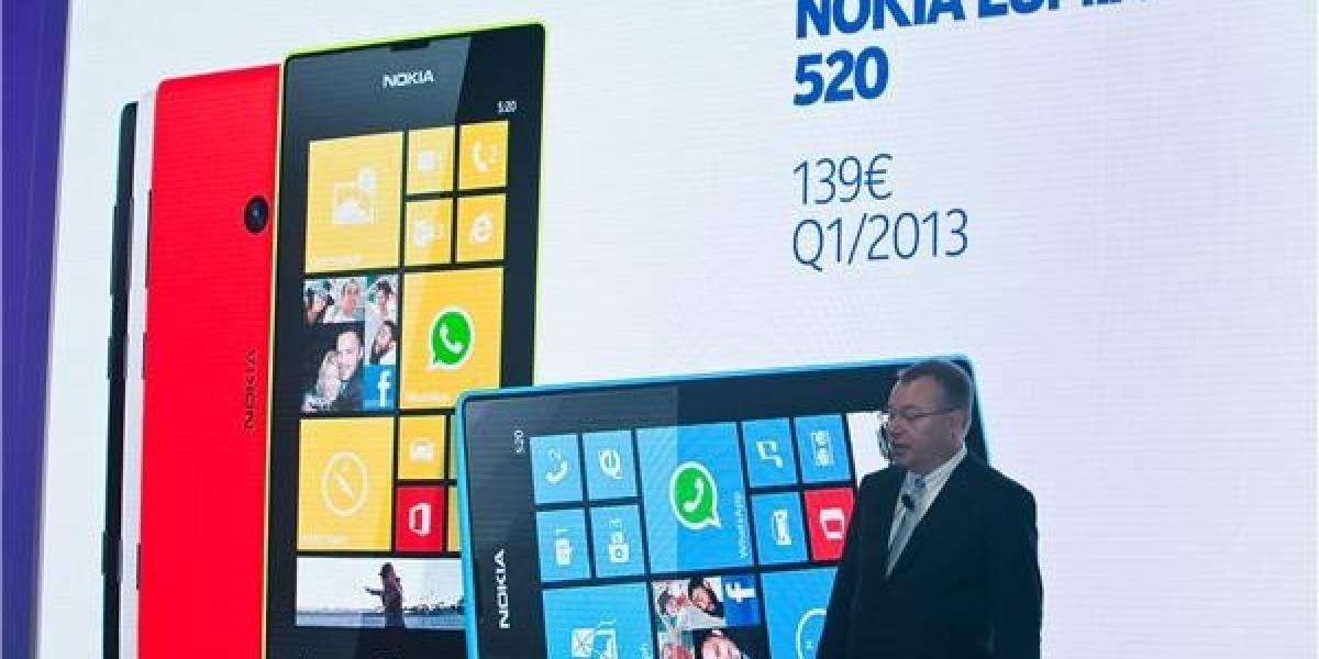 MWC13: Nokia añade a su linea Lumia el 520 y el 720