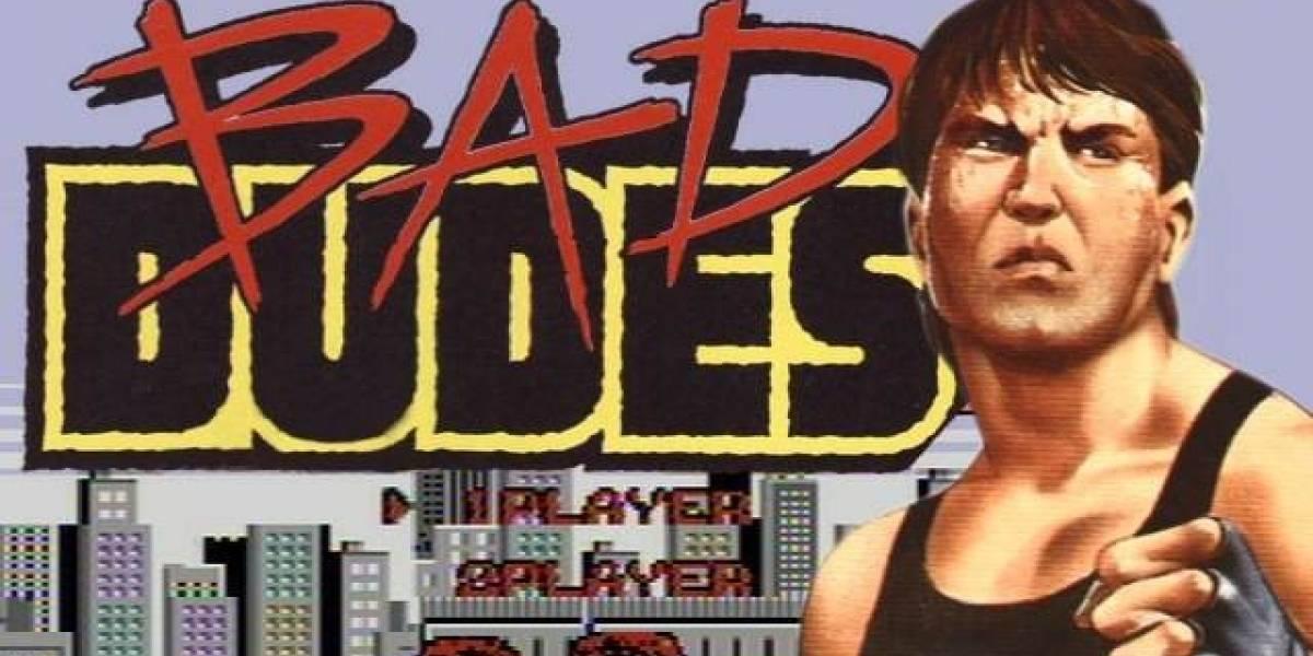 Asi luce en acción Bad Dudes 2 de Kickstarter