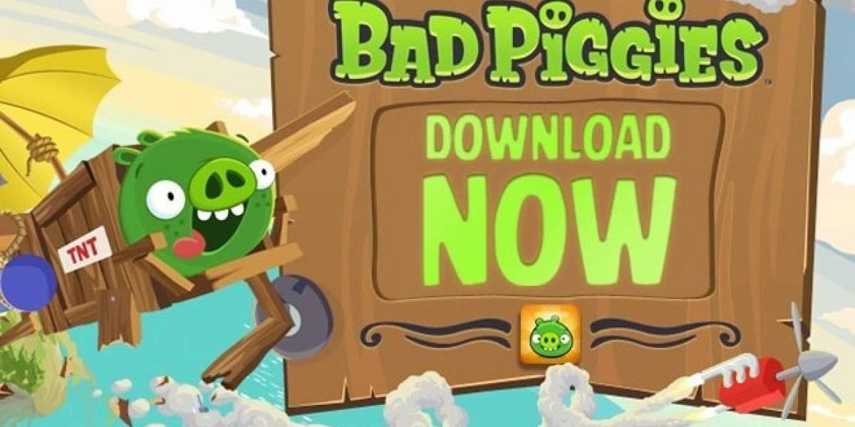 Ya están aquí los Bad Piggies, la secuela de Angry Birds, para iOS y Android