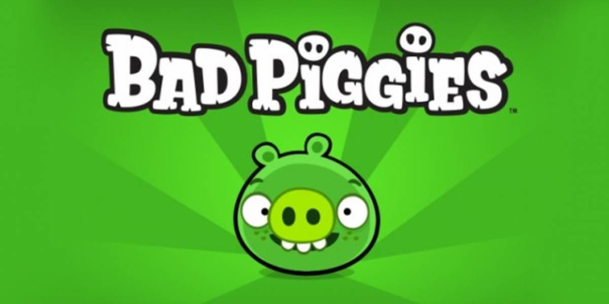 Tráiler con jugabilidad de Bad Piggies, el nuevo juego de los creadores de Angry Birds