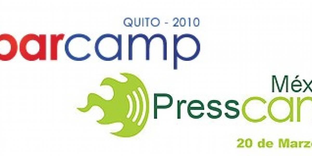 Agenda IT: Ecuador (Barcamp) y México (PressCamp, Destilando Web y Twestival)