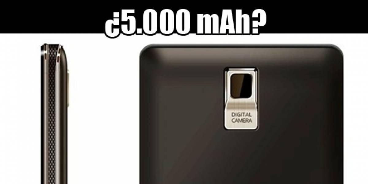 Fabricante chino anuncia teléfono con una batería de 5.000 mAh