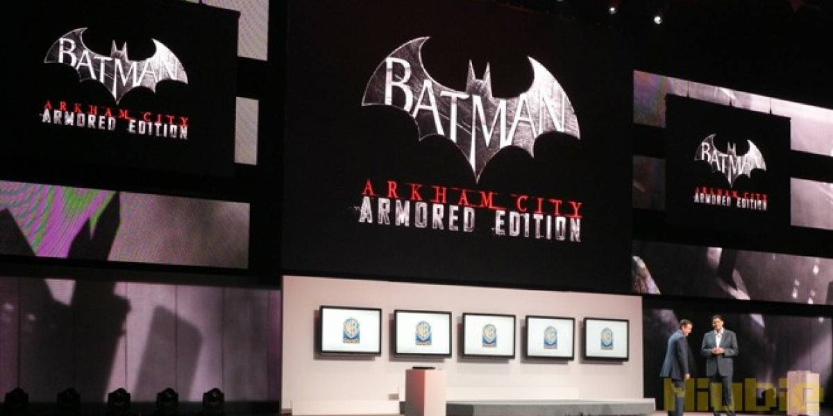E3 2012: Batman Arkham City Armored Edition presentado para Wii U