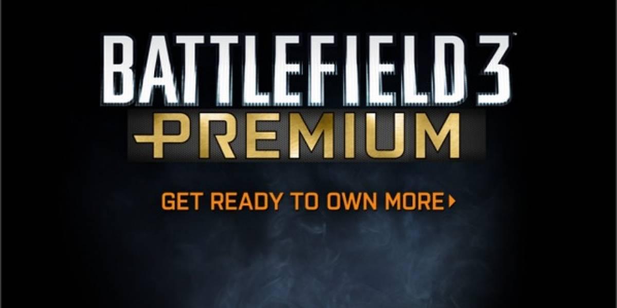 Battlefield 3 Premium ya tiene 1.3 millones de suscriptores