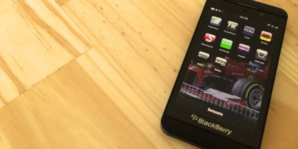 Betazeta ya está en BlackBerry 10