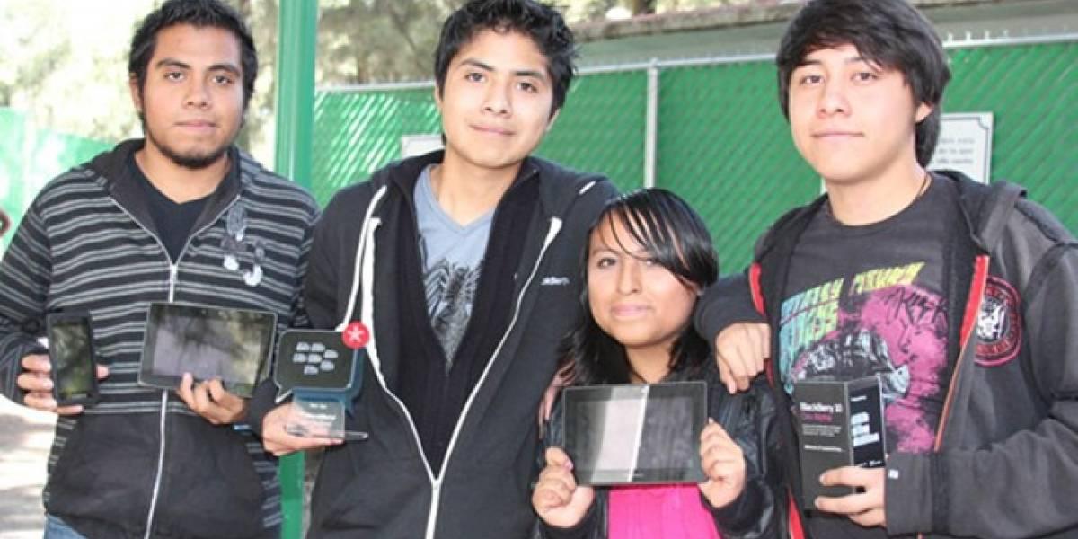 Alumnos de la UNAM ganan dentro de la competencia Reto Blackberry México