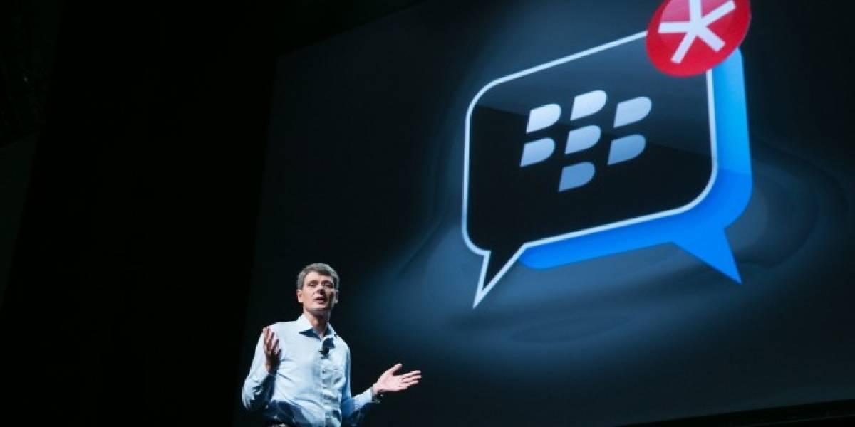 BlackBerry Messenger para iOS y Android comienza su beta privada