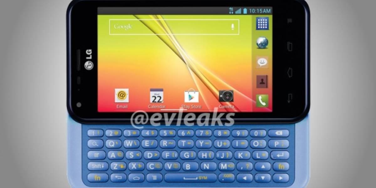 Se filtra el LG Optimus F3Q con teclado físico deslizable