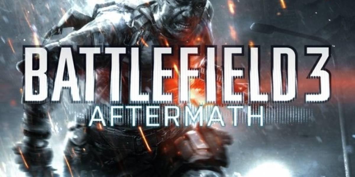 Battlefield 3: Aftermath estrena tráiler y fecha de salida