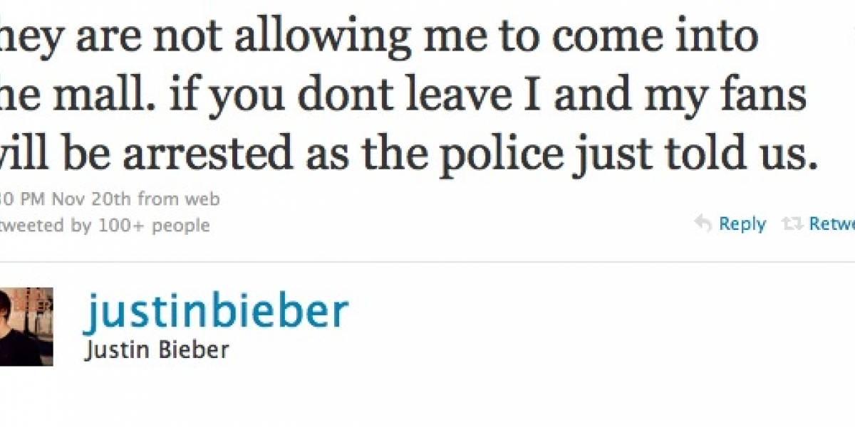 Arrestado por no usar Twitter
