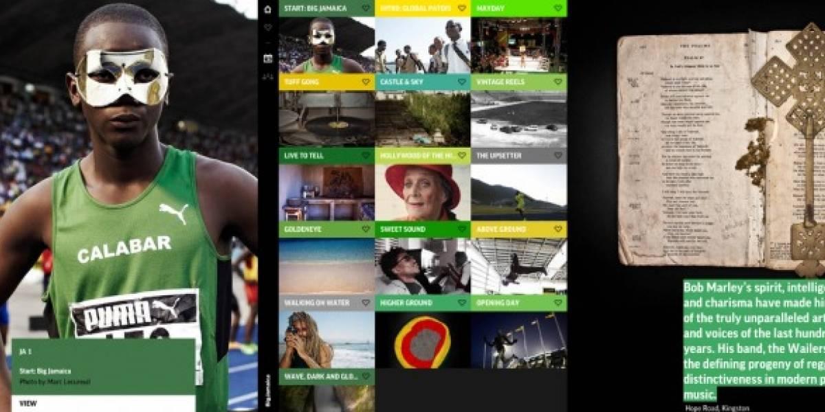 Big Jamaica y Revista Big, dos propuestas de revista de gran diseño para iOS