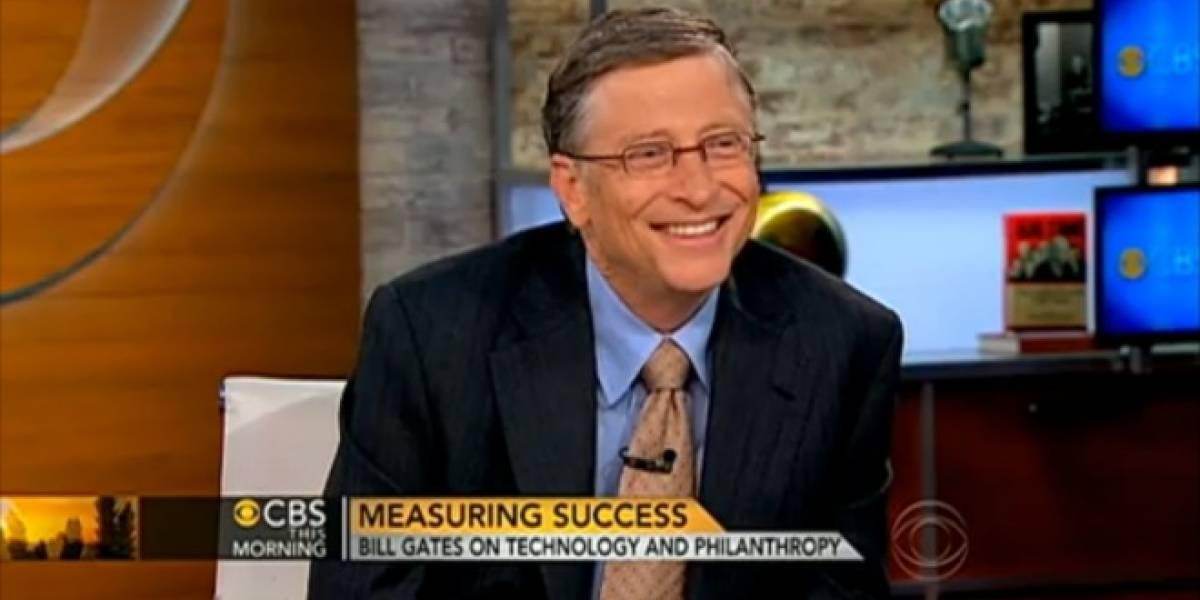 Bill Gates reconoce que Microsoft se equivocó de estrategia en el mercado de los celulares