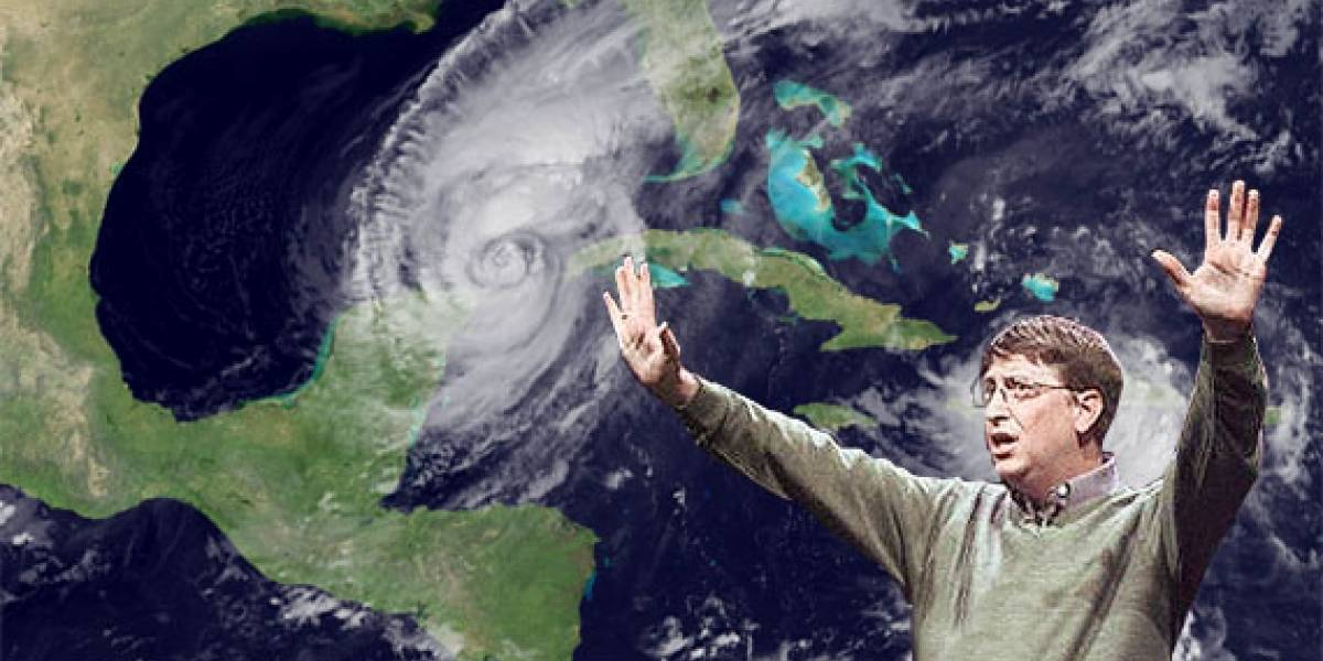 Bill Gates patenta un sistema para detener huracanes