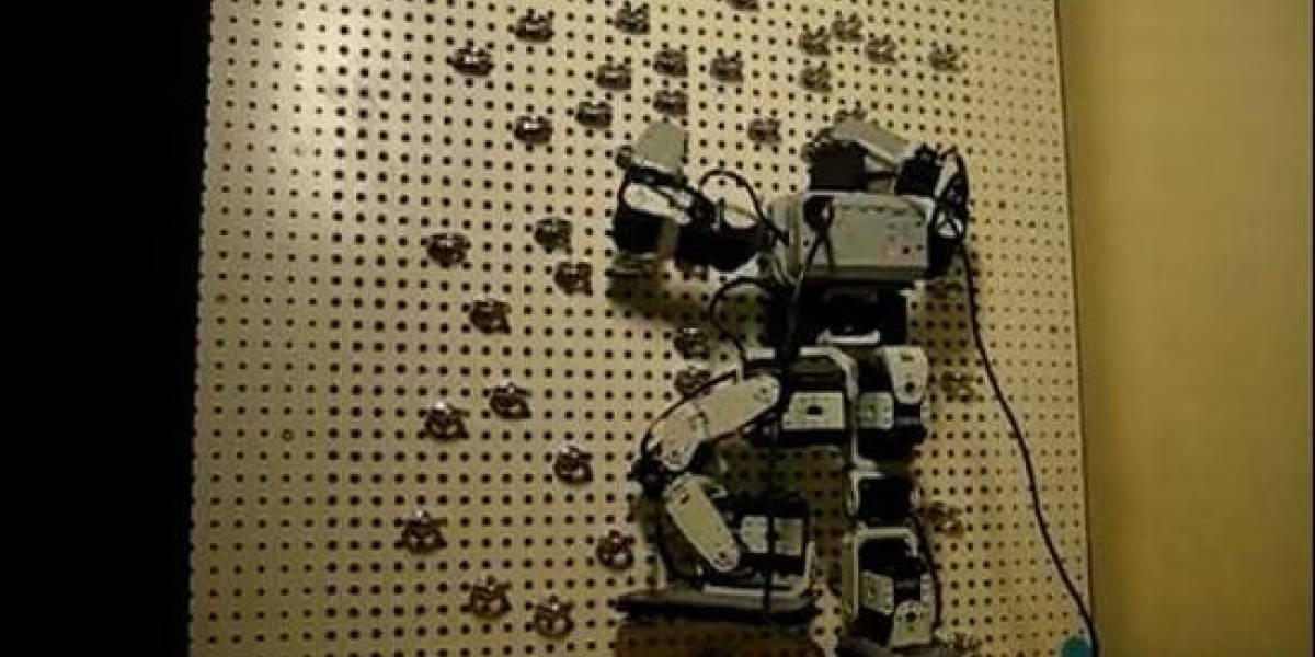 Robots escaladores y algunas de sus técnicas