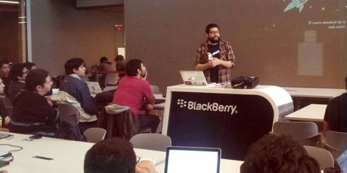 Con éxito finalizó el BlackBerry Dev Meetup de Santiago
