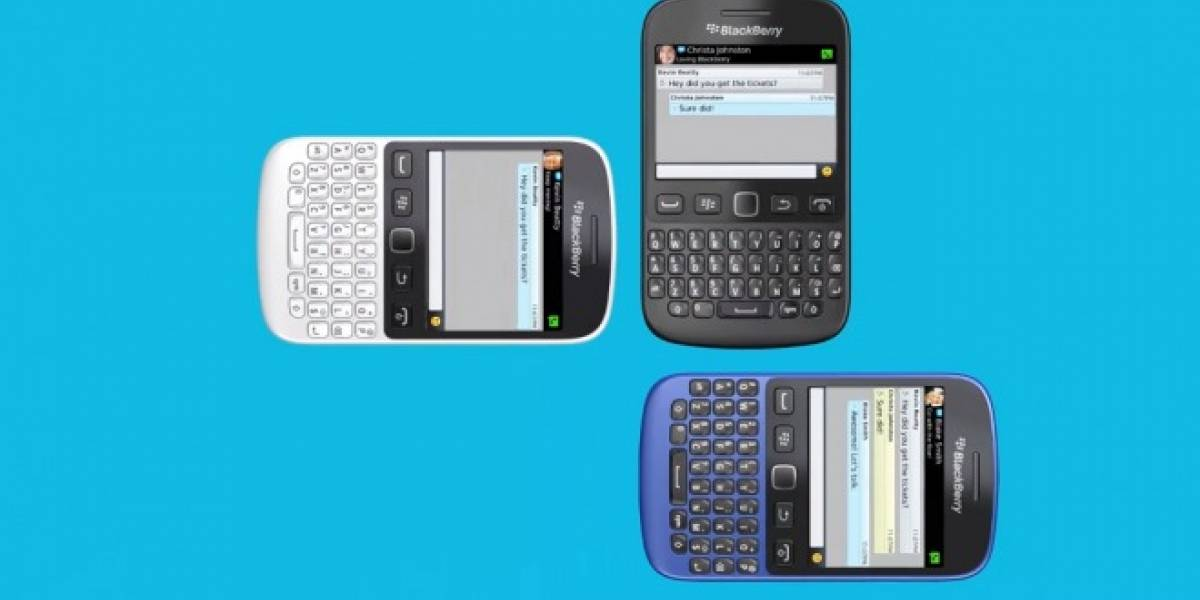 BlackBerry lanza un nuevo equipo con BB7, el BlackBerry 9720