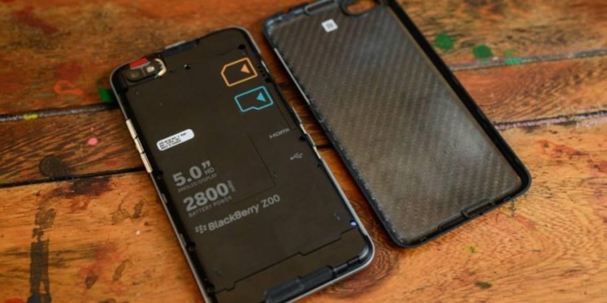 El BlackBerry Aristo no tendrá batería removible