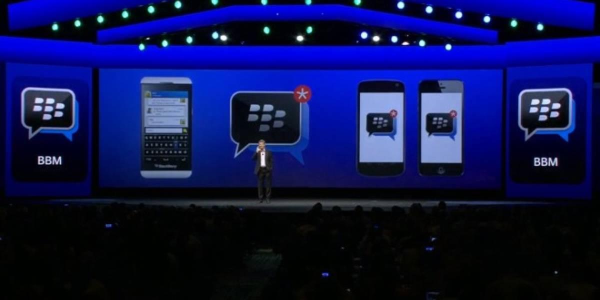 BlackBerry Messenger vendrá preinstalado en smartphones LG