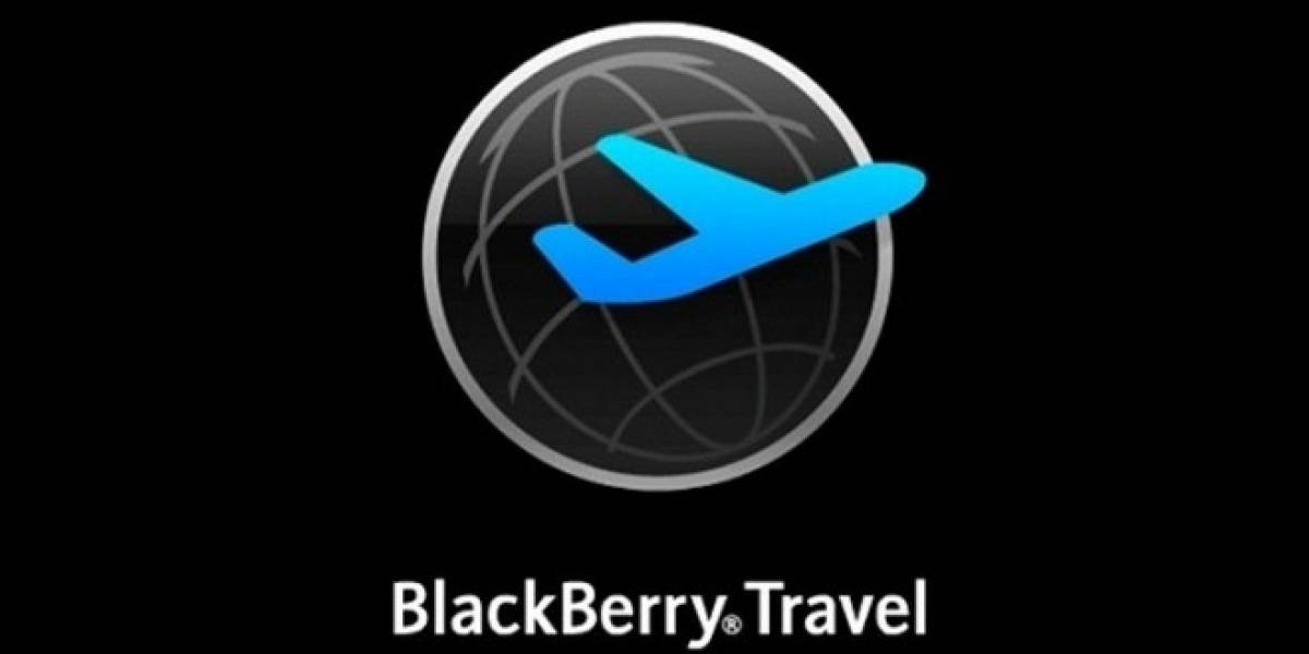 BlackBerry Travel ya está disponible para BB10