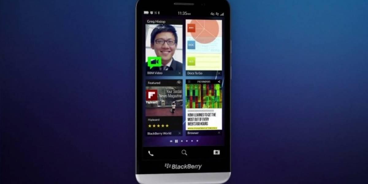 BlackBerry Z30 llega con una gran pantalla de 5 pulgadas