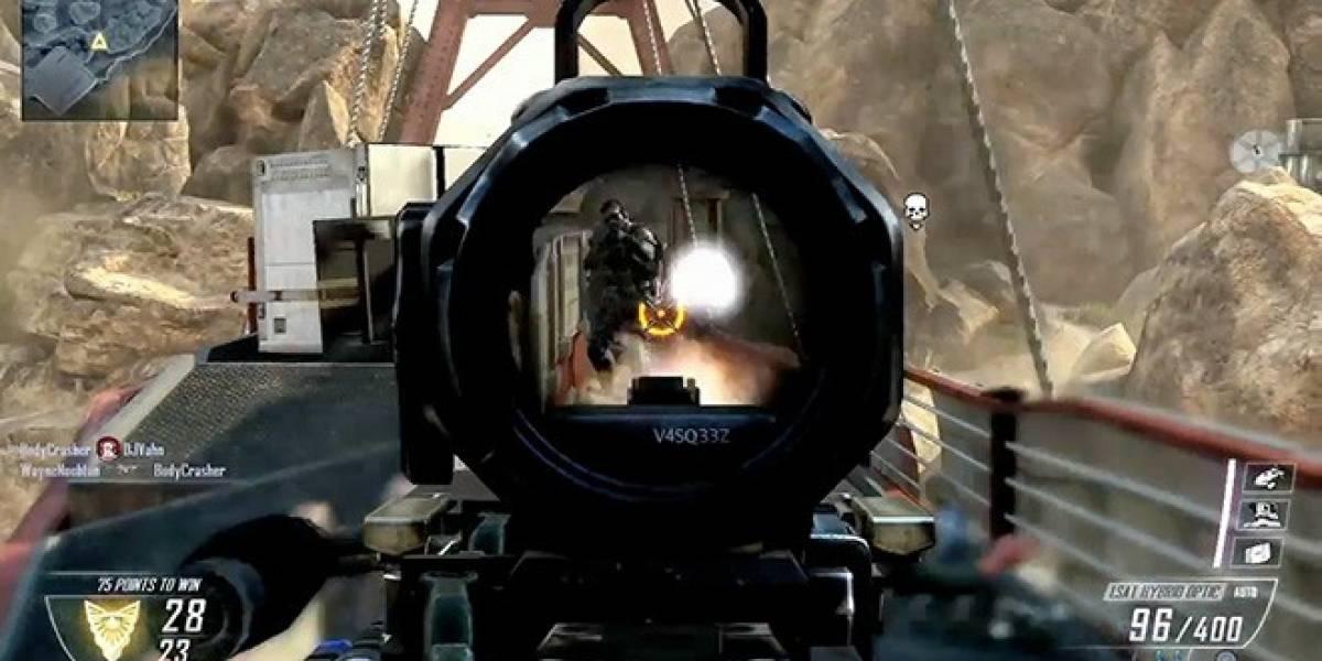 Call of Duty: Black Ops II estrena nuevo tráiler del multijugador