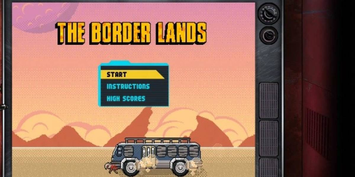 Borderlands también tiene versión de 16-bits y se juega en el navegador