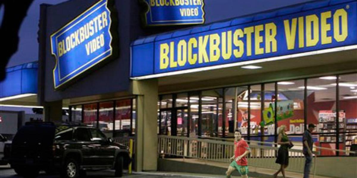 La piratería dejó a BlockBuster en bancarrota
