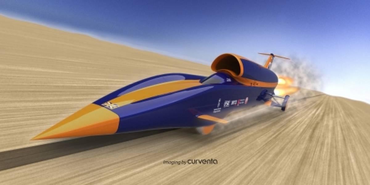 Diseñan vehículo que podría alcanzar una velocidad de 1.600 km/h