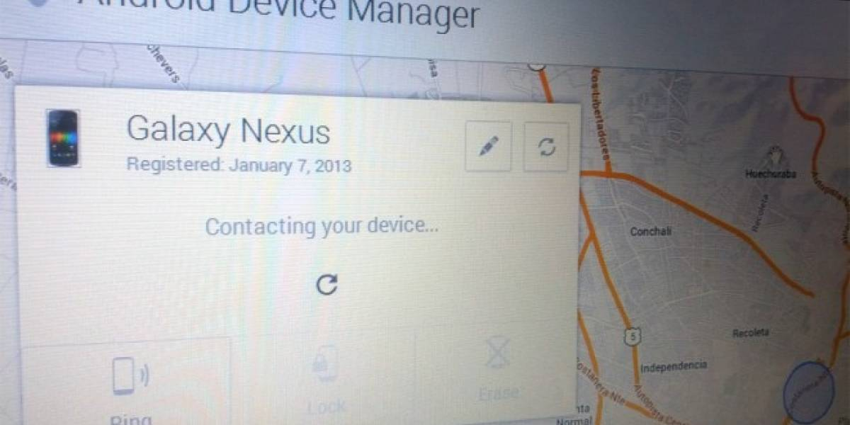 Android Device Manager permite bloquear equipos de forma remota