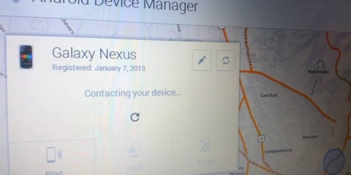 Android Device Manager ya disponible en Google Play