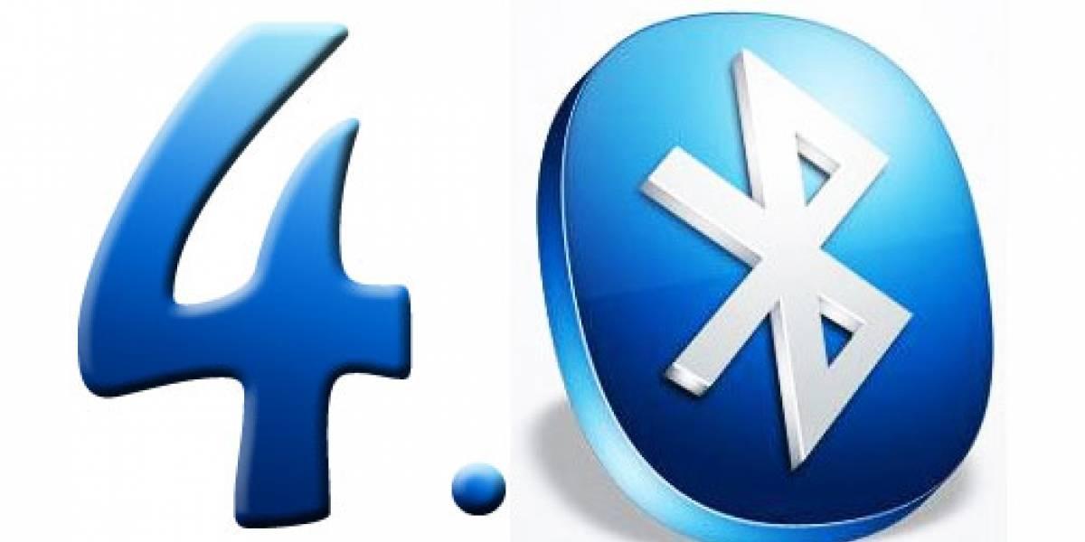 Bluetooth 4.0 funciona con menos energía