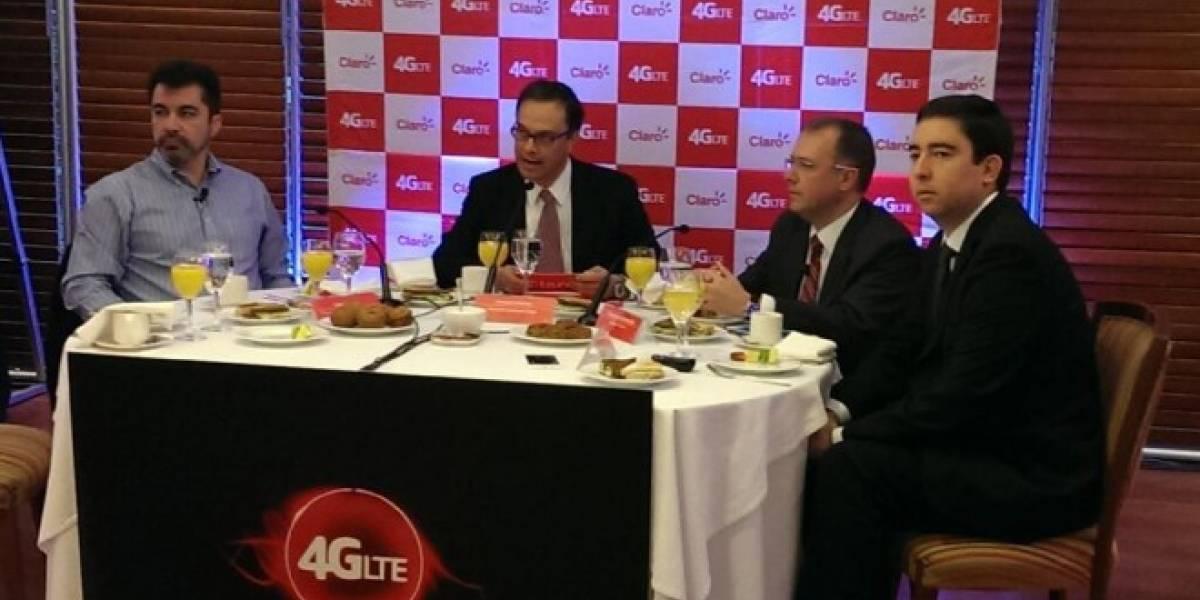 Claro Chile lanza la primera red 4G LTE del país