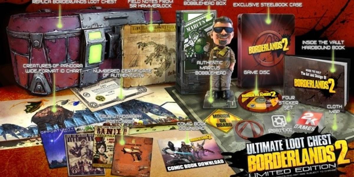Borderlands 2 tendrá dos ediciones limitadas