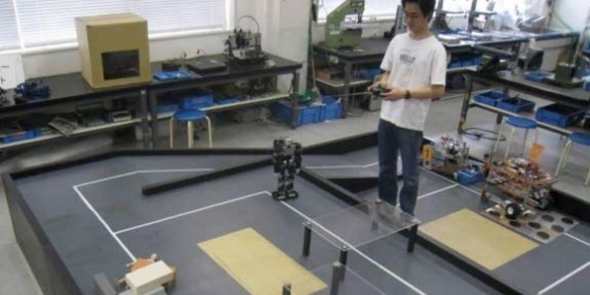 En Japón desarrollan competencia de robots de rescate