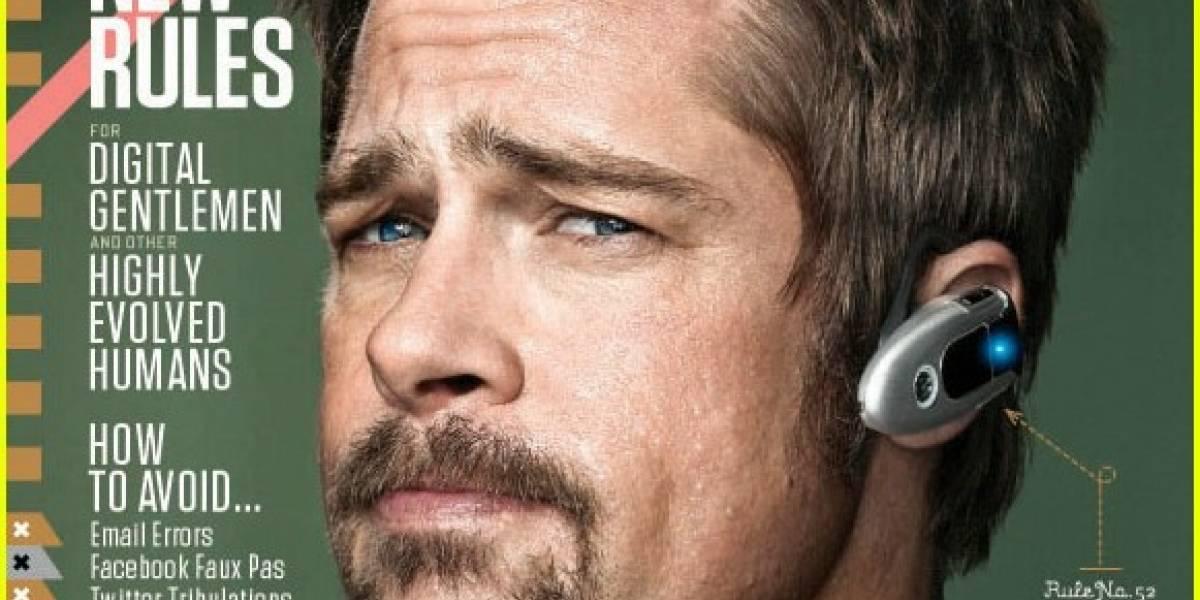 Brad Pitt comenta sobre Twitter y la vida online