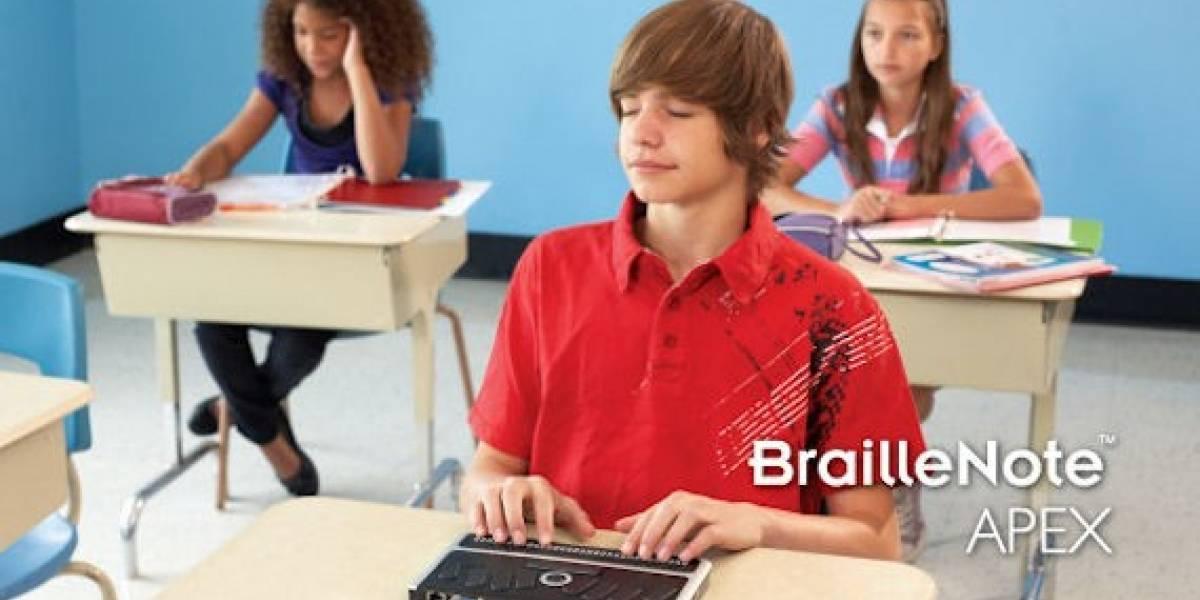 BrailleNote: Una suerte de netbook para no videntes