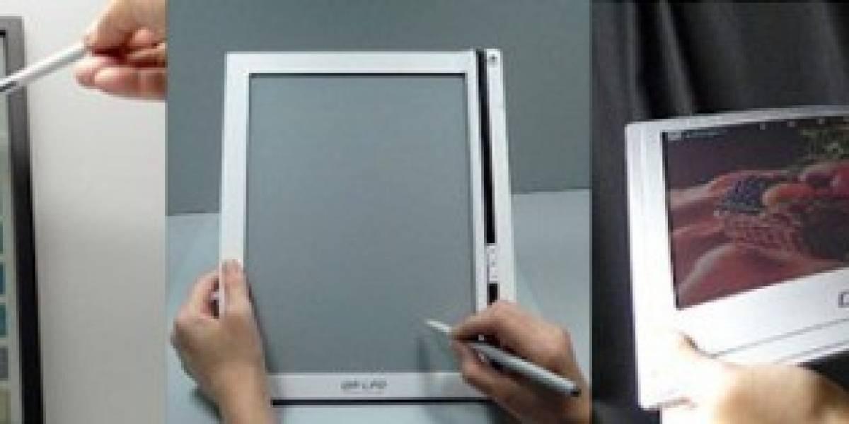 Bridgestone quiere lectores de libros electrónicos táctiles, flexibles y a color