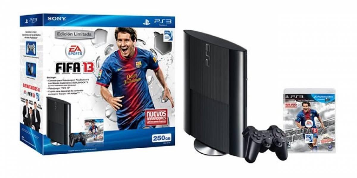La nueva PS3 llegará junto a FIFA 13 en un nuevo paquete para Latinoamérica