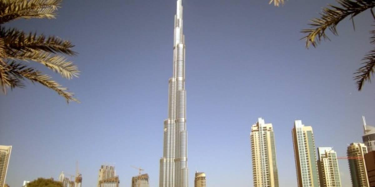Vídeo: Desde la punta del Burj Dubai, el edificio más grande del mundo
