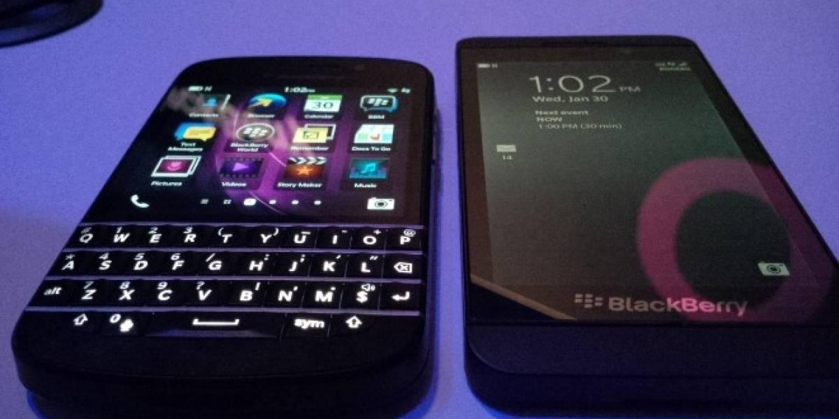 BlackBerry ahora vende el Z10 y Q10 desbloqueados a través de su tienda en línea