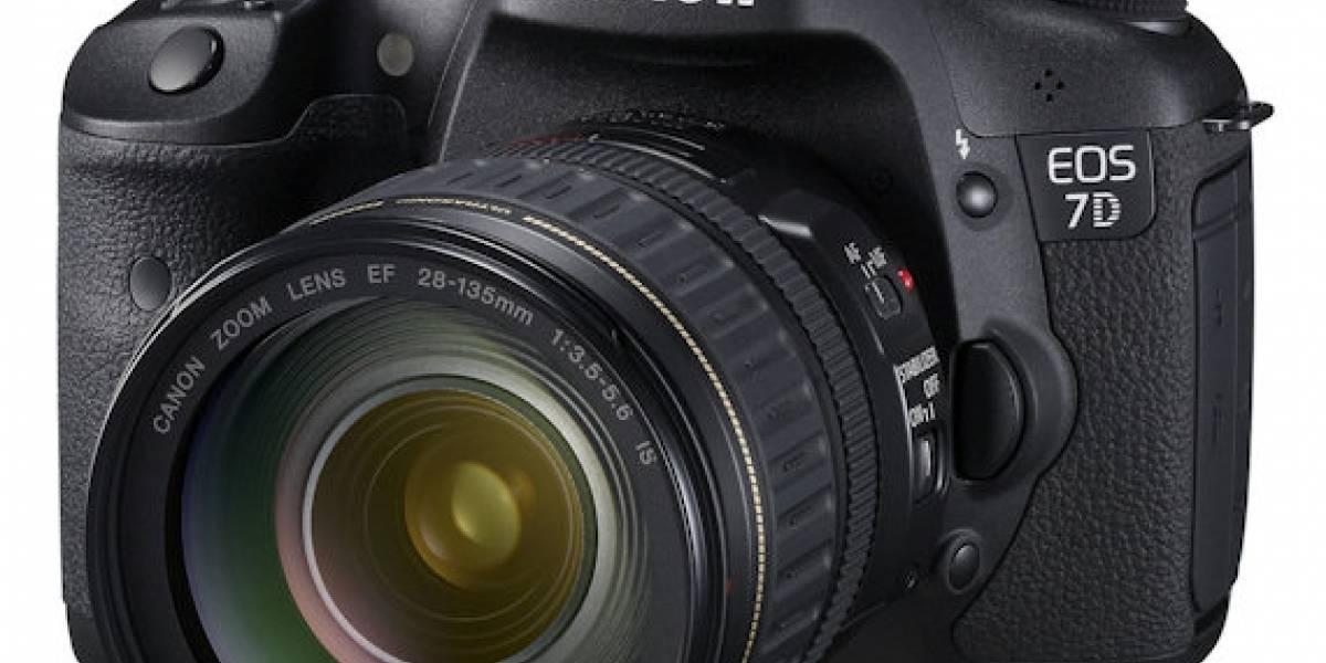 Canon EOS 7D: La mejor Canon del segmento medio-alto