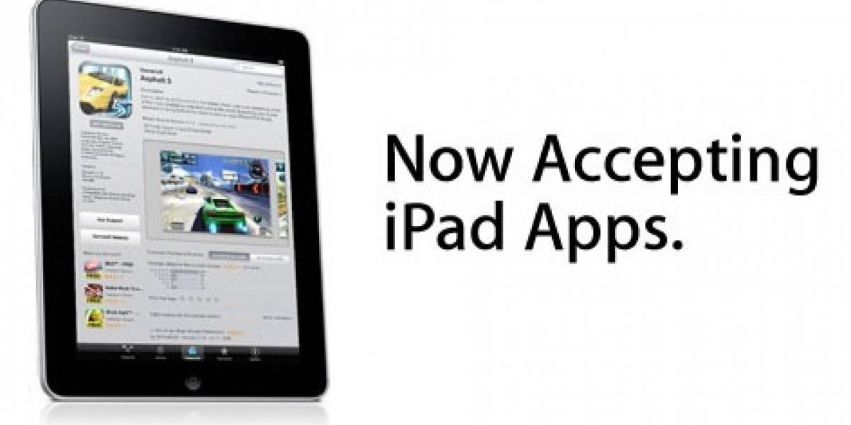 Apple comienza a recibir apps para iPad