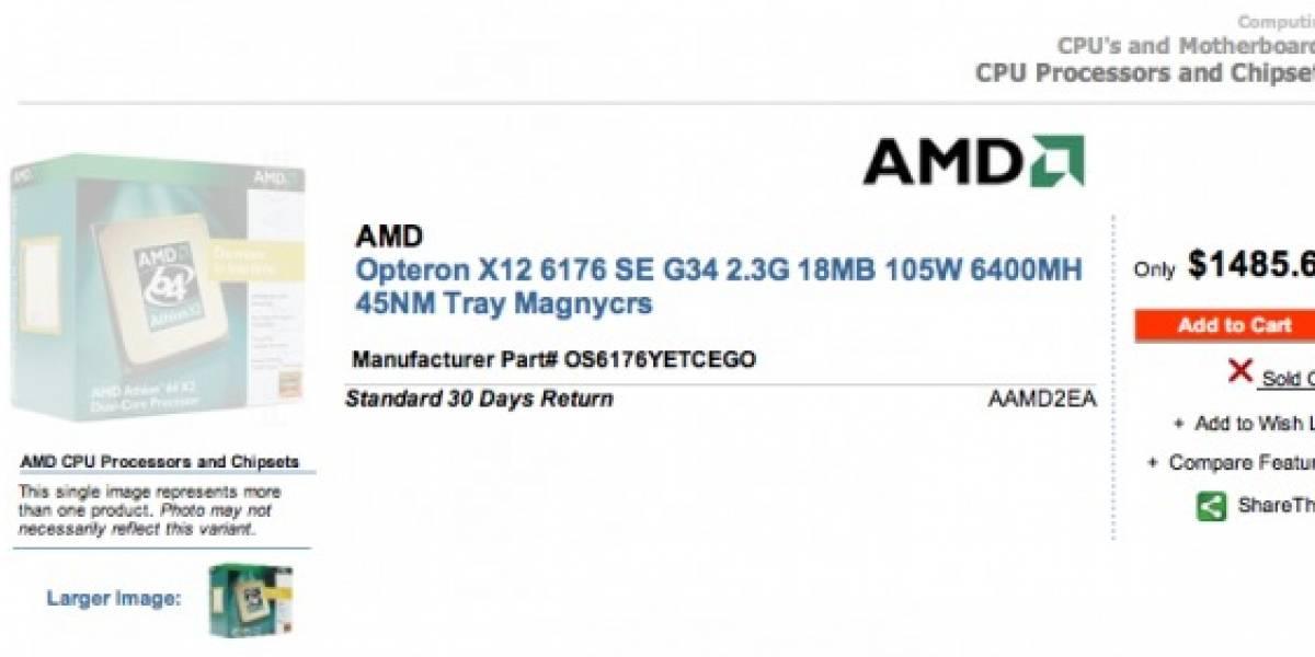 Minorista tiene a la venta un nuevo modelo de AMD Opteron X12