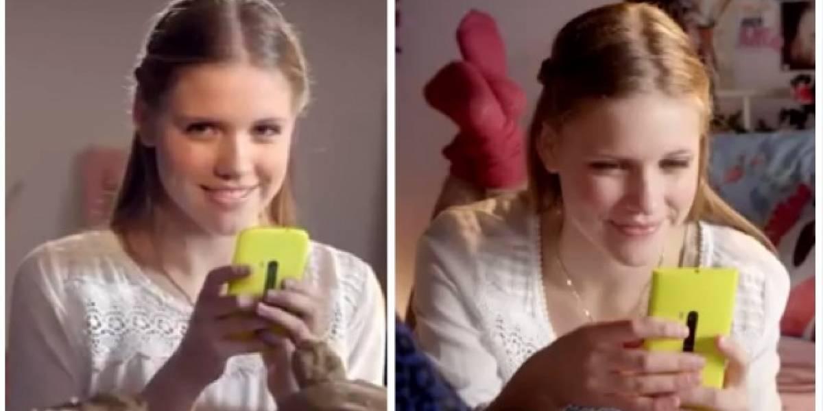 Un Nokia Lumia misterioso se cuela en video holandés