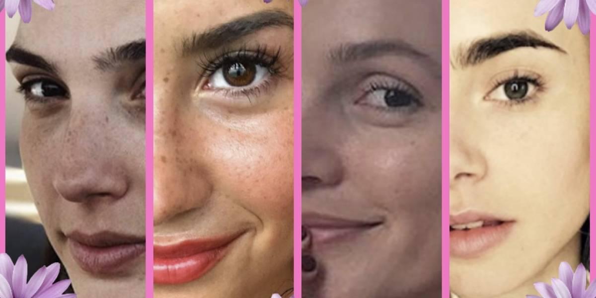 Fotos de famosas sin maquillaje que han enloquecido al Internet