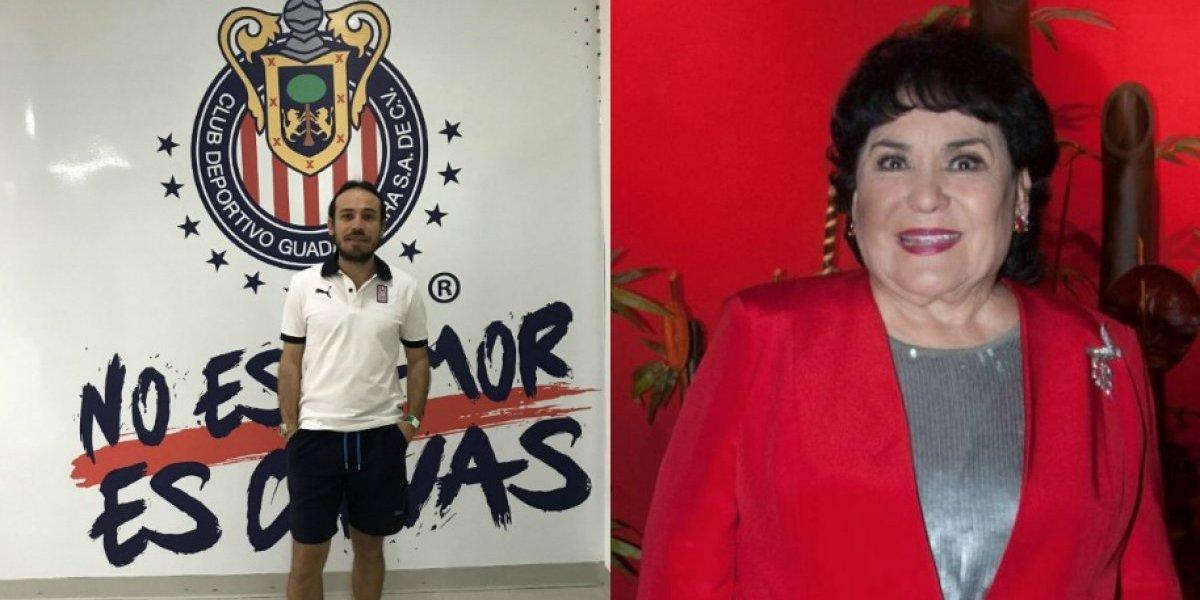 Carmen Salinas responde a Chivahermano que se tatúo su rostro